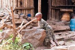 Люди в Эфиопии Стоковое Изображение RF