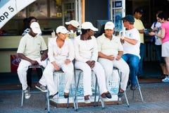Люди в ЮЖНОЙ АФРИКЕ Стоковая Фотография RF