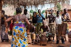 Люди в Kara, ТОГО Стоковая Фотография RF