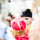 Люди в LALIBELA, ЭФИОПИЯ Стоковое Фото
