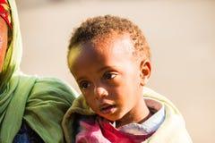 Люди в LALIBELA, ЭФИОПИЯ Стоковая Фотография RF