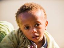 Люди в LALIBELA, ЭФИОПИЯ Стоковое Изображение RF
