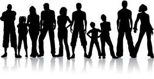 люди группы Стоковая Фотография