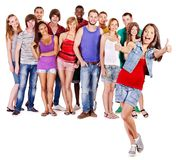 Люди группы Стоковое Изображение