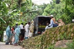 Люди деревни Асома Стоковое Изображение RF