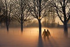 Люди делая прогулку Стоковая Фотография