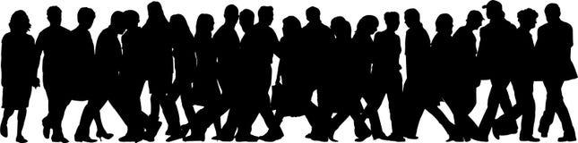 люди иллюстраций Стоковая Фотография
