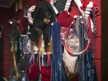Люди и дамы одежда и аксессуары Стоковые Изображения RF