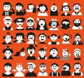 Люди и время Стоковое Изображение