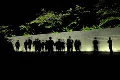 Люди и призраки Стоковые Изображения RF