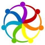 люди логоса Стоковая Фотография RF