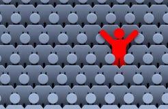 люди людей толпы Стоковая Фотография RF