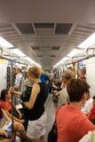 люди метро Стоковая Фотография RF