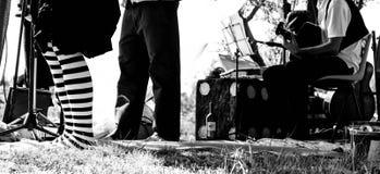 Люди музыкального фестиваля Стоковая Фотография RF