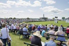 Люди наслаждаясь большой выставкой Йоркшира Стоковое Изображение