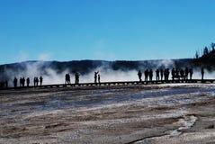 Люди на грандиозное призменном Стоковые Фотографии RF