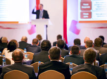 Люди на конференции Стоковая Фотография RF