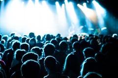 Люди на концерте Стоковое Фото