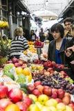 Люди на рынке Стоковое Фото