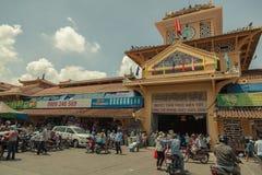 Люди на улице азиатской страны - Вьетнам и Камбоджа Стоковая Фотография RF