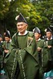 Люди на фестивале Jidai Matsuri Стоковое Изображение