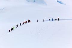 Люди на льде стоковые изображения
