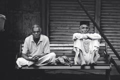 Люди дней вечера Индии Стоковое Изображение RF