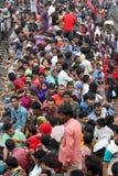 Люди домашнего предела последний день Eid-ul-Adha Стоковое Фото