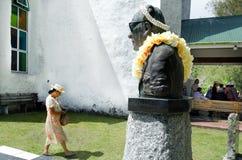 Люди Острова Кука молят на CICC церков Стоковые Изображения RF