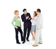 люди офиса группы сплетни Стоковая Фотография RF