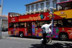 Люди - Порту - Португалия Стоковые Фото