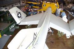 Люди посещают славные границы музея полета Стоковое фото RF