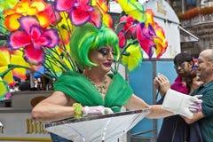 Люди празднуют Кристофер Стоковое Фото