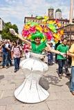 Люди празднуют Кристофер Стоковая Фотография RF
