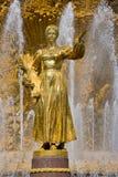 люди приятельства части фонтана Стоковые Фотографии RF