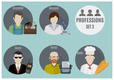Люди профессии Комплект 3 Стоковые Фото