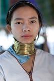 Люди племени Padaung, Мьянма Стоковая Фотография RF