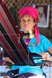 Люди племени Padaung, Мьянма Стоковое Изображение RF
