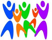 люди разнообразности Стоковая Фотография RF