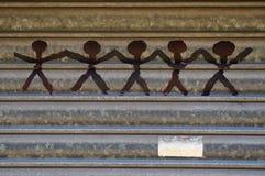 Люди ручки Стоковая Фотография RF