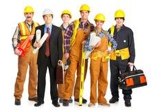 люди строителя Стоковые Изображения RF