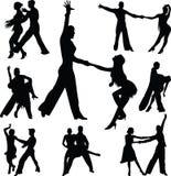 Люди танца Бесплатная Иллюстрация