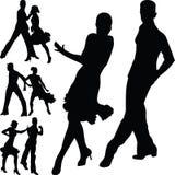 Люди танца Иллюстрация штока