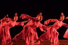 люди танцульки китайца Стоковая Фотография RF