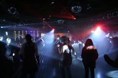 люди танцы Стоковые Фотографии RF