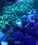 люди толпы нерезкости Стоковое фото RF