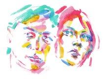 люди цвета Стоковая Фотография RF