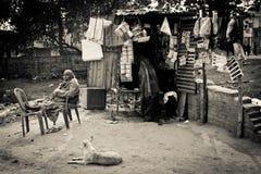 Люди Bodh Gaya, Индии Стоковые Фотографии RF