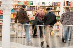 Люди Bookstore стоковые фото