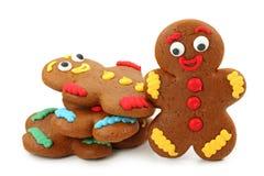 люди gingerbread Стоковые Изображения
